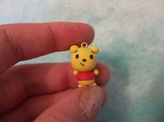 Cute Winnie The Poo Polymer Clay Charm