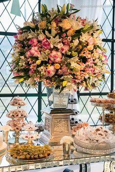 Decoração rosa casamento