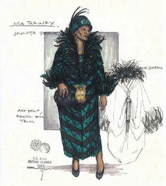 Ma Rainey's Black Bottom (Ma Rainey). Arizona Theatre Company. Costume design by Matthew J. LeFebvre. 2010