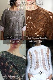 DiaryofaCreativeFanatic: Needlecrafts - Knitting Stitch Primer, Drop Stitch