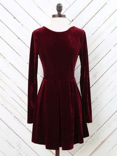 932e66e317d Altar d State Velvet Cheers Dress Red Velvet Dress