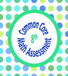 Common Core Assessments / Warm Ups Math - 8th - Entire Eighth Grade - with Key.  Over 100 questions that align precisely to the common core standard. Each page contains at least 4 questions for EACH of the 24 standards.    8.F, 8.NS, 8.EE, 8.G, 8.SP    Each standard is clearly labeled on every page.  A great time saver!