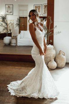 Wedding Dress Mermaid Lace, Wedding Dress Black, Wedding Dress Sleeves, Long Sleeve Wedding, Best Wedding Dresses, Mermaid Dresses, Bridal Dresses, Dresses With Sleeves, Gown Wedding