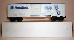 Frank's Roundhouse Penn State boxcar. Penn State 1982 and 1986 National Champions in football