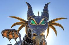 VoluntEARS Building Ten Foot Maleficent Dragon Out of Cans for Charity in Orange County