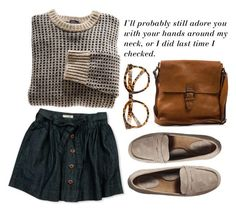 """""""505"""" by anna-mckinley ❤ liked on Polyvore featuring Merona, FE NY, Boomerang and Forever 21"""