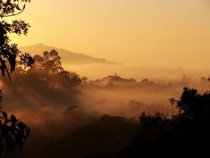 Sunrise at Enchanted Mountain in Santa Catarina, Brazil - an amazing place worth traveling to.