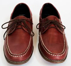 Leather Boat Shoes - Men's Shoes - Custom Fitting - Any Colors