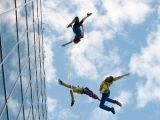 BANDALOOP, Oakland's internationally-acclaimed vertical dance company offers Festival-goers a breathtaking performance this year, dancing on and off the wall of City Hall on Saturday, 8/2/2014 at 3:15 PM. DO NOT MISS THIS!