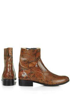 Topshop Aero snake boots