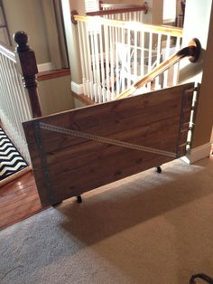 Industrial Farmhouse Baby Gate