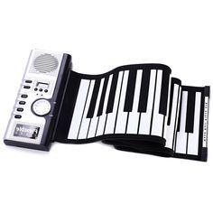 33.22$  Buy now - https://alitems.com/g/1e8d114494b01f4c715516525dc3e8/?i=5&ulp=https%3A%2F%2Fwww.aliexpress.com%2Fitem%2FPortable-61-Keys-Foldable-Keyboard-Piano-Soft-Electric-Digital-Roll-up-Digital-Organ-White-and-Black%2F32688045231.html - Portable 61 Keys Foldable Piano Keyboard Piano Soft  Electric Digital Roll-up Digital Organ  White and Black  Musical Instrument 33.22$