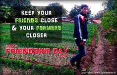 Having a friend is not always about your schoolmates, neighbors and co-workers. You can find best friends at local farm.  Happy Friendship Day!   #friendshipday #celebration #countrylife #farmer #bestfriends #BFF