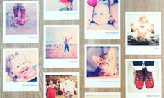 Set of 16 Custom Polaroid Wall Decals from Paper Culture... Value Price $29.99... Today Only $10.00 :-)