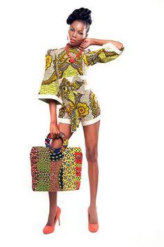 African fashion. That bag though