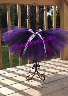 Baltimore Ravens Tutu or pick your team by TouchdownTutus on Etsy, $22.00