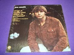 "Joe South - Don't It Make You Want To Go Home - Rare 12"" Vinyl LP Record ST-392"