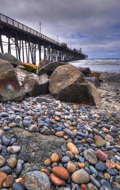 Oceanside Pier, San Diego, California by Kelly Wade