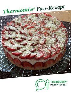 Käsesahne mit Erdbeeren von Danicol24. Ein Thermomix ® Rezept aus der Kategorie Backen süß auf www.rezeptwelt.de, der Thermomix ® Community.