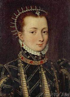 Anna Boleyn - Anne Boleyn / Contemporary painting