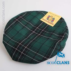 Maclean Tartan Cap. Free worldwide shipping available