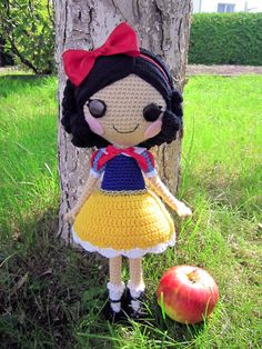 Free Crochet Pattern For Snow White Dress : 1000+ images about Lalaloopsy on Pinterest Amigurumi ...