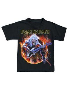 Camiseta Iron Maiden - Eddie Bass por Metal-Kids $19.99 (euros) en EMP... Europe´s Rock Mailorder No.1 : La más grande venta por correo de Merchandising Oficial Musica Metal / Hard rock / Heavy / Ropa Gótica / Militar/ Lolita / Punk Style .. y mucho más