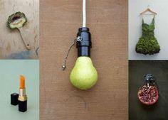 Meyve ve sebzelerle yaratılmış 14 nesne   Galeri   nediyor.com