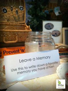 retirementpartymemory Memory Jar