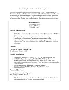 Sample Student Resume Sample Of Resume For Internship In Malaysia