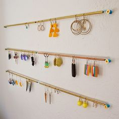 Ohoh Blog - diy and crafts: DIY Monday # Modern jewelry holders