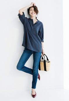 Nothing beats the feeling of perfectly fitting jeans! http://uniqlo.us/2e3662f