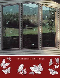 X Collidescape Window Film To Prevent Bird Strikes - Window decals for birds