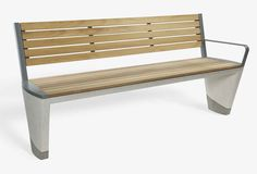 Durability Complimented by Refinement: Concrete Street Furniture Range - http://freshome.com/2013/12/20/durability-complimented-refinement-concrete-street-furniture-range/