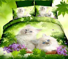 Obliečky s efektom + plachta Cats, Bedroom Stuff, Animals, 3d, Gatos, Animales, Animaux, Animal, Cat