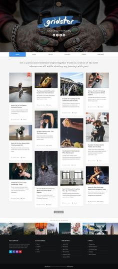 This is the list of best premium photography WordPress themes that will minimize your massive effort to find the perfect 1 for your photography site. Social Link, Premium Wordpress Themes, Templates, Adventure, Blog, Photography, Header, Writers, Magazine