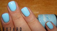 claire's pastel blue