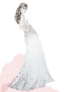 Pencil illustration Pencil Illustration, Wedding Dresses, Fashion, Bride Dresses, Moda, Bridal Gowns, Fashion Styles, Weeding Dresses, Wedding Dressses