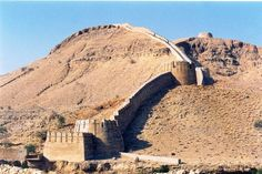 Wall of Sindh in Ranikot [3 hrs drive from Karachi]. It's the part of one of the Largest Fort in World,Fort of Ranikot.