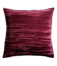 H&M Kuddfodral sammet/linne 99:-