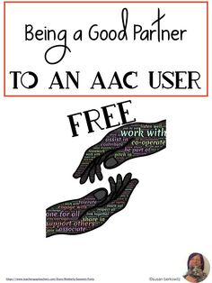 Task Shakti - A Earn Get Problem Aac Users Need Communication Partners To Create A Positive Communication Environment, To Use Modeling, And More. Figure out How To Support Your Aac Users With This Free Informational Handout. Communication Pictures, Communication Development, Language Development, Communication Skills, Speech Language Therapy, Speech Therapy Activities, Language Activities, Speech And Language, Speech Pathology