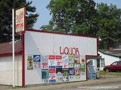 Broadway Market, a convenience store in Three Rivers, Michigan