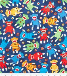 Custom Crib Sheet  Sock Monkeys  Cotton by SweetBobbins on Etsy, $29.50