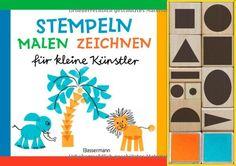 Stempeln, malen, zeichnen-Set: für kleine Künstler. Buch mit 10 Holzstempeln und 2 Stempelkissen: Amazon.de: Norbert Pautner: Bücher