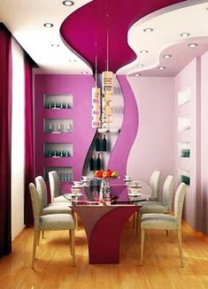 Unusual ceiling designs stretch our imagination and add creativity to modern interior design and decorating