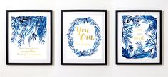 Free inspirational printables in indigo and gold are the perfect wall decor for your home office or craft room! As a mom of two little ones, taking care of myself through maintaining a healthy life…