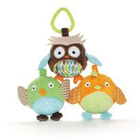 The Owl & Friends ball trio from Skip Hop. Lily just loved these! Great first toys!