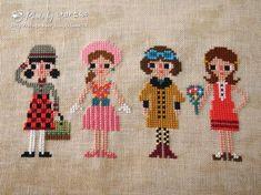 Cross Stitch Sampler Patterns, Cross Stitch Samplers, Cross Stitch Designs, Cross Stitching, Cactus Cross Stitch, Mini Cross Stitch, Cross Stitch Rose, Embroidery Applique, Cross Stitch Embroidery