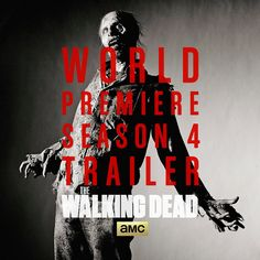 Walking Dead Season 4 Trailer, Images, and More! Walking Bad, Walking Dead Gif, Walking Dead Season 4, Talking To The Dead, Stuff And Thangs, San Diego Comic Con, Zombie Apocalypse, Rock And Roll