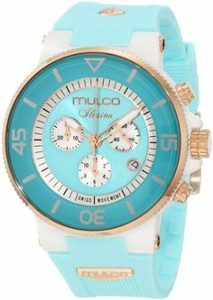 Mulco Unisex MW3-11009-053 Fashion Analog Swiss Movement with Silicone Band Watch MULCO. Save 25 Off!. $295.00. Swiss movement ronda 5030d. Durable mineral crystal protects watch from scratches,. Case diameter: 46 mm. Water-resistant to 100 M (330 feet). Ceramic case